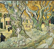 Vincent Van Gogh - The Road Menders, 1889 by famousartworks