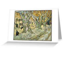 Vincent Van Gogh - The Road Menders, 1889 Greeting Card