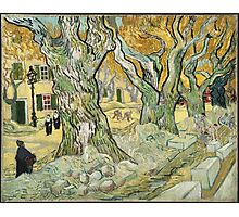 Vincent Van Gogh - The Road Menders, 1889 Photographic Print