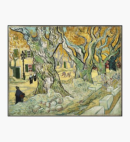 Vincent Van Gogh - The Road Menders, 1889 Photographic Print