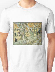 Vincent Van Gogh - The Road Menders, 1889 Unisex T-Shirt