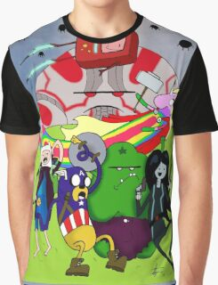 Avenger Time Graphic T-Shirt