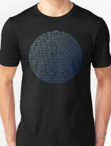 Pale Blue Dot - Carl Sagan Unisex T-Shirt