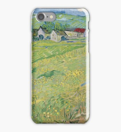 Vincent Van Gogh - Les Vessenots in Auvers, 1890 iPhone Case/Skin