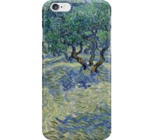 Vincent Van Gogh - Olive Orchard iPhone Case/Skin