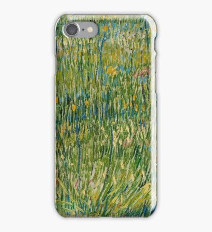 Vincent Van Gogh - Patch of grass iPhone Case/Skin