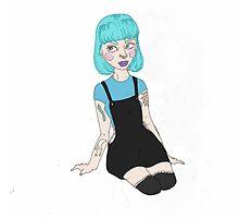 Blue Beauty by ChubbyWitch