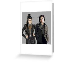 Lana Parrilla (Evil Queen/Regina)  Greeting Card