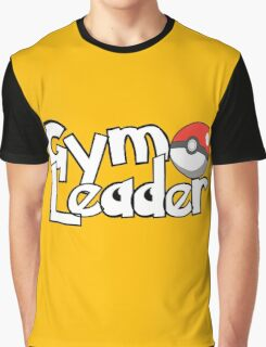 Pokemon Gym Leader Graphic T-Shirt