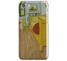 Vincent Van Gogh - The bedroom, October 1888 , Impressionism iPhone Case/Skin