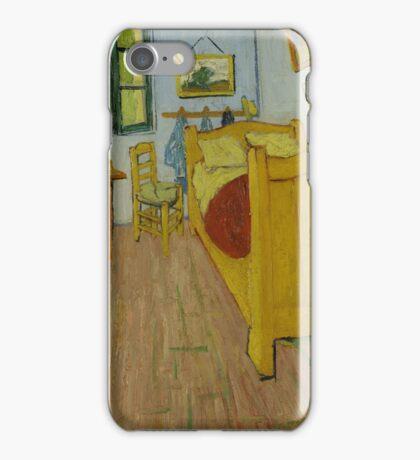 Vincent Van Gogh - The bedroom, October 1888 , Impressionism iPhone Case/Skin