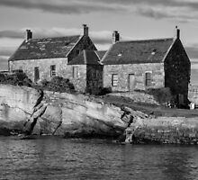 Cove Harbour in Scotland by Jeremy Lavender Photography