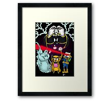 Uncanny Adventure Time Framed Print