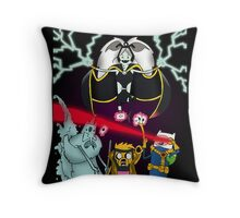 Uncanny Adventure Time Throw Pillow