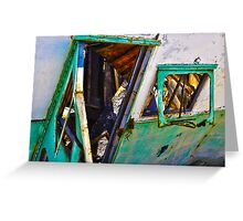 SALTON SEA REHAB II (CARD) Greeting Card