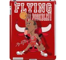 FLYING IS POSSIBLE!! iPad Case/Skin