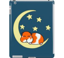 A cute hamster sleeping under the stars #redbubbleartparty iPad Case/Skin