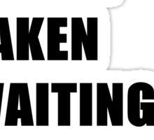 Waiting For Magnus Bane Sticker