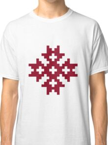Nordic Moon Cross Meness Krusts Classic T-Shirt
