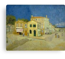 Vincent Van Gogh - The yellow house, September 1888 - 1888 Metal Print