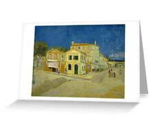 Vincent Van Gogh - The yellow house, September 1888 - 1888 Greeting Card