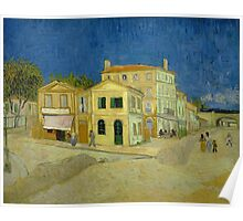 Vincent Van Gogh - The yellow house, September 1888 - 1888 Poster