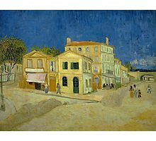 Vincent Van Gogh - The yellow house, September 1888 - 1888 Photographic Print