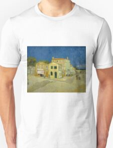Vincent Van Gogh - The yellow house, September 1888 - 1888 Unisex T-Shirt