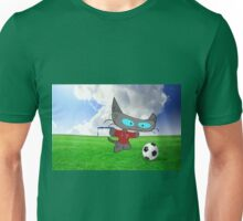 Cat Soccer Star Unisex T-Shirt