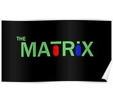 The Matrix minimal poster Poster