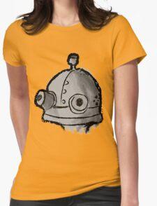 Machinarium paint Womens Fitted T-Shirt