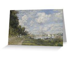 Claude Monet - Bassin d'Argenteuil (circa 1872) Greeting Card