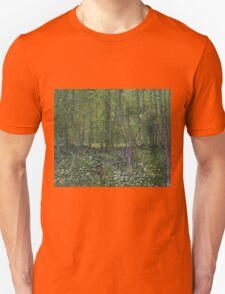 Vincent Van Gogh - Trees and undergrowth, July 1887 - 1887 T-Shirt