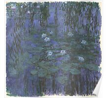 Claude Monet - Blue Water Lilies (1916 - 1919) Poster