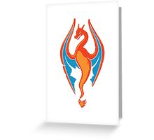 FireBorn (white) Greeting Card