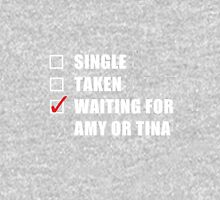 Waiting For Amy or Tina Womens Fitted T-Shirt