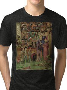 The Magical Menagerie Fantastic Pet Shop Tri-blend T-Shirt