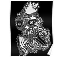 King owl the Thief (White) Poster