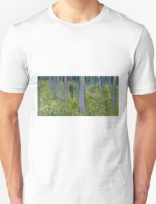 Vincent Van Gogh - Undergrowth with Two Figures, 1890 T-Shirt