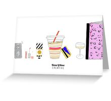 Day to Day Print Greeting Card