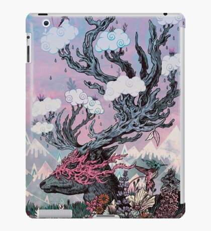 Journeying Spirit (deer) sunset iPad Case/Skin