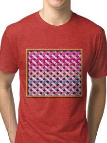Cute fun style Patch  Tri-blend T-Shirt