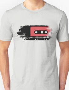 Grunge faded analogue retro audio tape Unisex T-Shirt