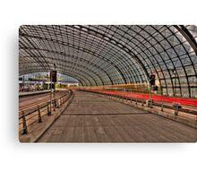 Hauptbahnhof Berlin Canvas Print