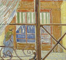 Vincent Van Gogh - View of a butcher's shop, February 1888 - 1888 by famousartworks
