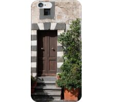 Umbrian Stone Doorway iPhone Case/Skin