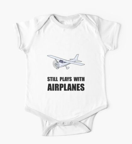 Plays With Airplanes One Piece - Short Sleeve