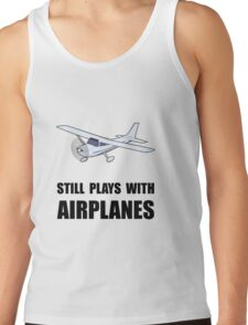 Plays With Airplanes Tank Top