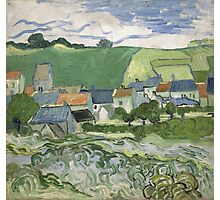 Vincent Van Gogh - View of Auvers, May 1890 - June 1890 Photographic Print