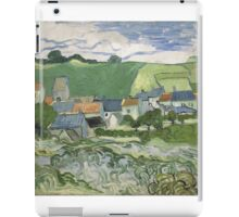 Vincent Van Gogh - View of Auvers, May 1890 - June 1890 iPad Case/Skin